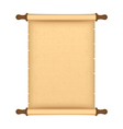 parchment roll vector image