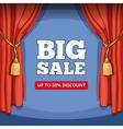 big sale special offer background vector image vector image