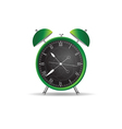 clock ancient green vector image