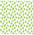 nature green leaf seamless pattern vector image vector image