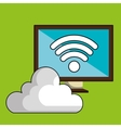Screen pc cloud wifi