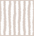 sketchy stripes seamless pattern vector image vector image
