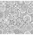Decorative background of full frame designs vector image