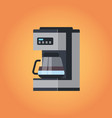 electric automatic espresso coffee machine icon vector image vector image