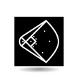 icon playground baseball vector image
