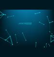 scientific molecule background for medicine vector image