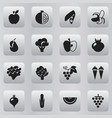 set of 16 editable dessert icons includes symbols vector image vector image