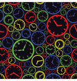 watch dial color pattern eps10 vector image