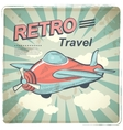 Retro travel vector image