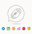 American football icon sport ball sign