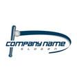 baseball club logo vector image