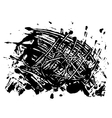 blot spot of black paint vector image vector image