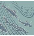Fishfree vector image vector image