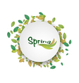 for spring design vector image vector image