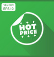 hot price shopping icon business concept sale vector image