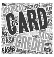 I m A Credit Card Deadbeat You Can Be One Too text vector image vector image