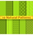 Natural seamless patterns tiling vector image vector image