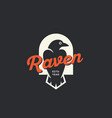 raven logo vector image