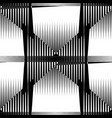 repeatable pattern abstract monochrome geometric vector image vector image