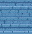 steel wall cartoon seamless pattern vector image