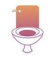 toilet icon image vector image vector image
