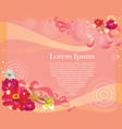 valentines day post card 8 vector image vector image
