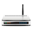 Wi-Fi Router device vector image vector image
