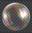 light soap bubble concept background realistic vector image