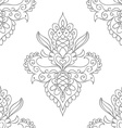 seamless texture with doodle pattern hand drawn vector image