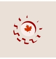 3D cog wheel with Canada flag