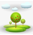 apple-tree vector image vector image