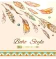Feathers boho style