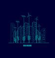 greenbuilding vector image