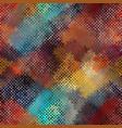 seamless rough canvas vector image vector image
