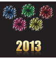 2013 new year celebration vector image