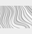 abstract grey curved waves refraction vector image vector image