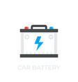 car battery accumulator icon vector image