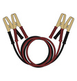 Car jumper power cables Color vector image vector image