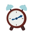 clock watch alarm time isolated vector image