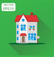 house icon business concept house pictogram on vector image vector image