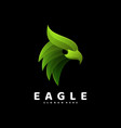 logo eagle gradient colorful style vector image vector image