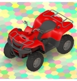 quad bike ATV isometric vector image vector image