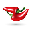red hot chili peppers vector image vector image