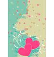 Romantic valentine background vector image vector image