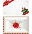saint valentines card vector image vector image