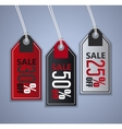 Sale stickers set vector image