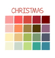 Christmas Colorful Color Tone vector image vector image