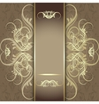 luxury background with beautiful pattern vector image vector image