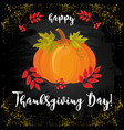 thanksgiving day 18 vector image vector image