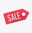 sale tag label vector image